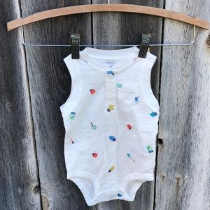 4/$20 Carter's insect onesie